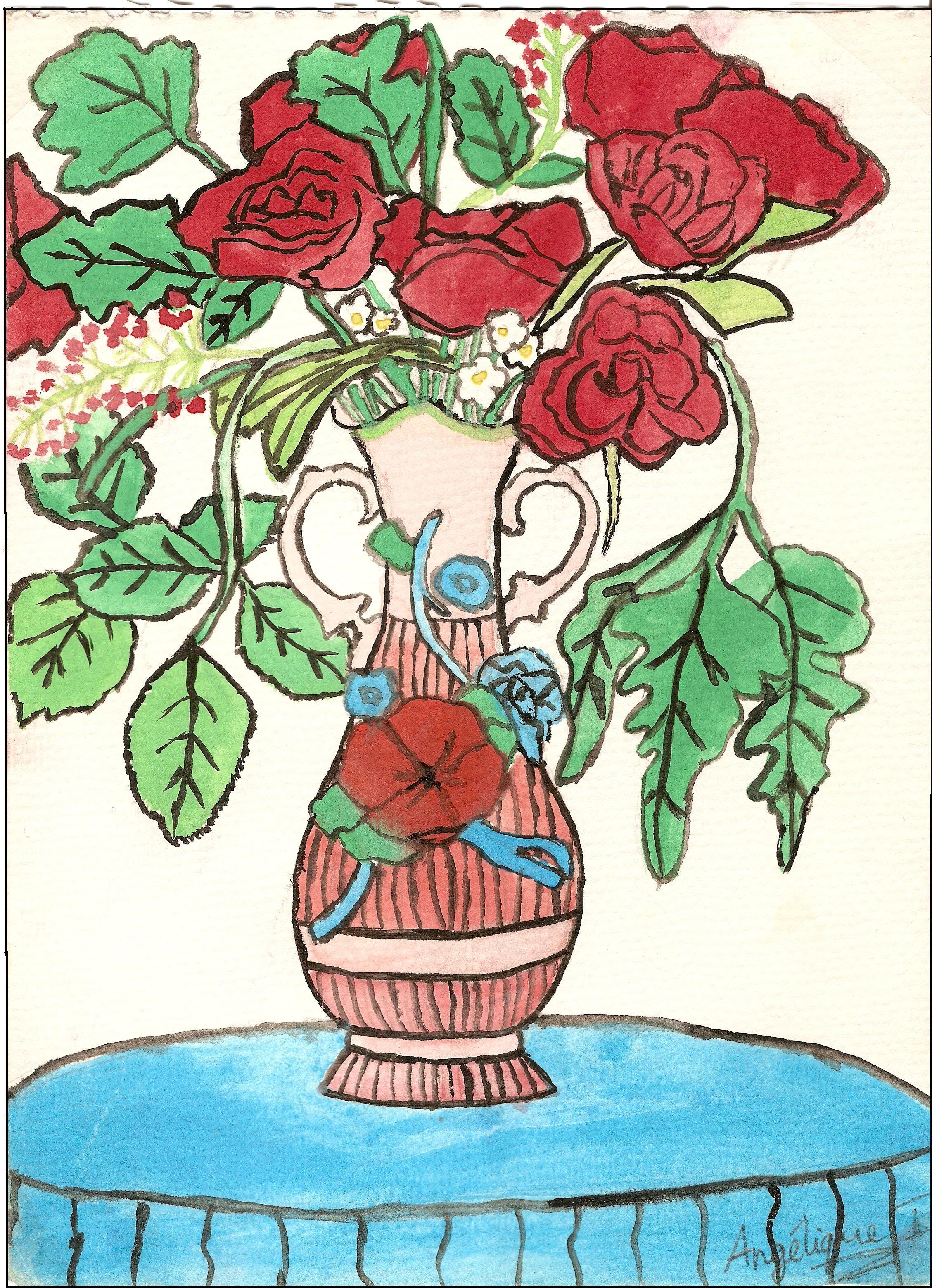 Roses à ma mère
